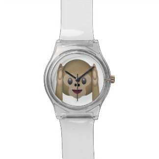 Hear No Evil Monkey Emoji Watch