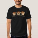 Hear No Evil Monkeys Tee Shirts