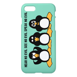 Hear No Evil Penguins iPhone 8/7 Case
