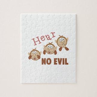 Hear No Evil Puzzles