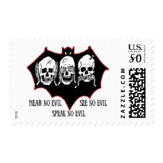 Hear no evil, see no evil, speak no evil Stamps