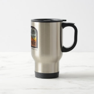 Hear Oh Israel Travel Mug