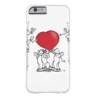 Hear on your heart barely there iPhone 6 case