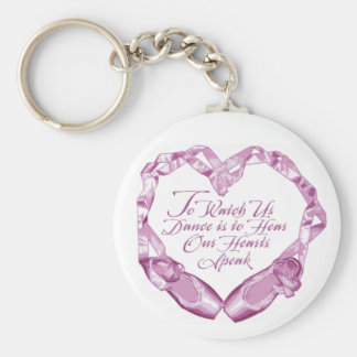 Hear Our Ballet Hearts Keychain