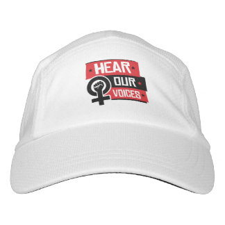 Hear Our Voices --  Headsweats Hat