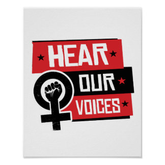 Hear Our Voices --  Poster