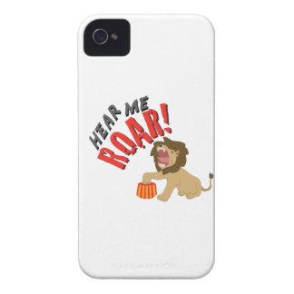 Hear Roar iPhone 4 Case-Mate Case