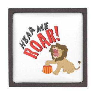 Hear Roar Premium Trinket Box