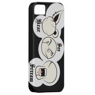 Hear see scream iPhone SE/5/5s case