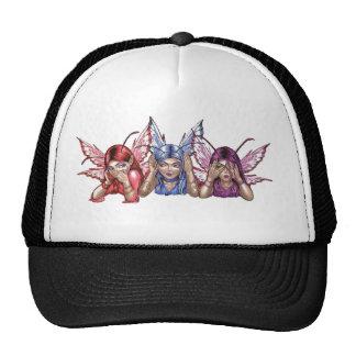 Hear, Speak, See No Evil Hats