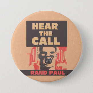 Hear The Call Pinback Button