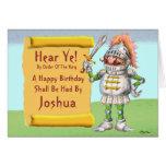 Hear Ye!  Happy Birthday Greeting Card