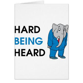 heard card