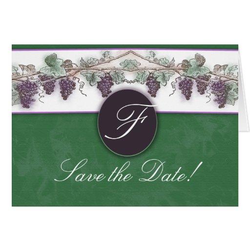 Heard it through the grapevine greeting card