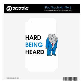 heard skin for iPod touch 4G
