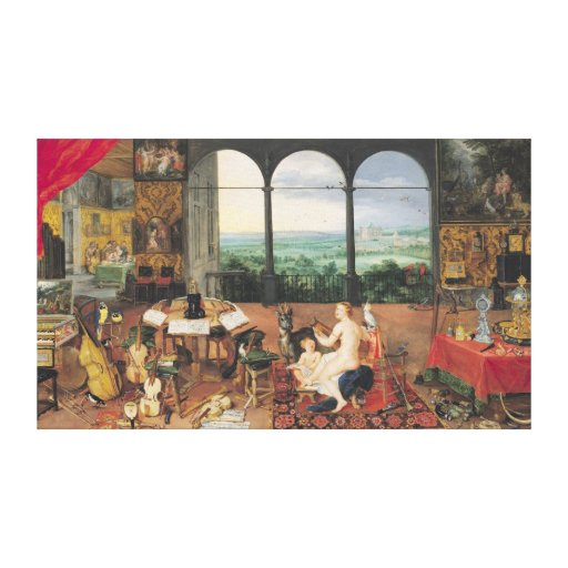 Hearing, 1617 gallery wrapped canvas