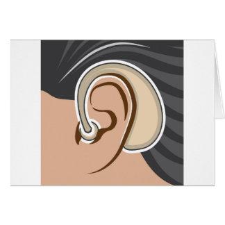 Hearing Aid Card