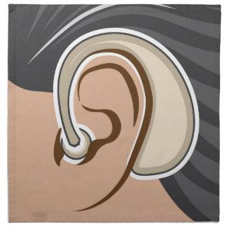 Hearing Aid Cloth Napkin