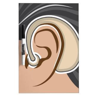 Hearing Aid Dry Erase Board