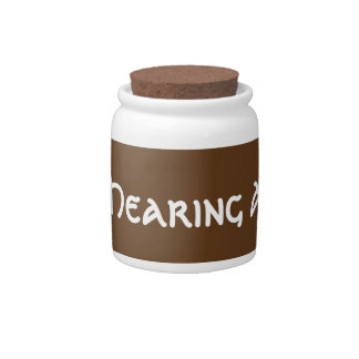 Hearing Aid Fund Bank Candy Jars