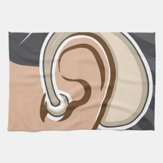 Hearing Aid Hand Towel