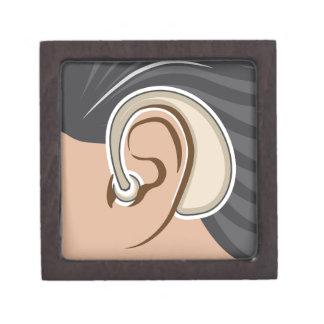 Hearing Aid Jewelry Box