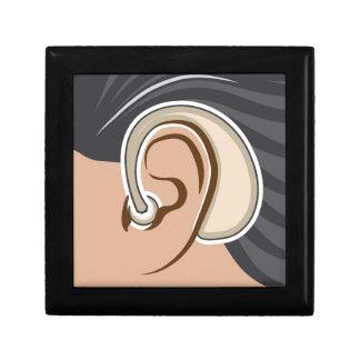 Hearing Aid Keepsake Box