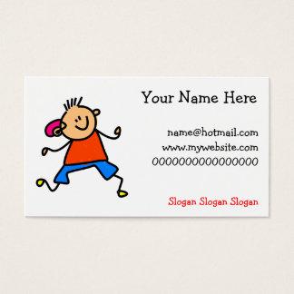 Hearing Aid Kid Business Card