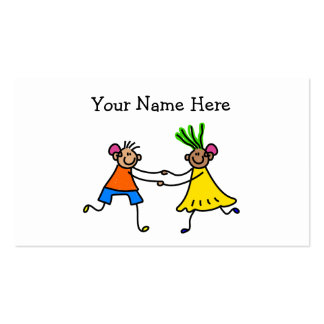 Hearing Aid Kids Double-Sided Standard Business Cards (Pack Of 100)