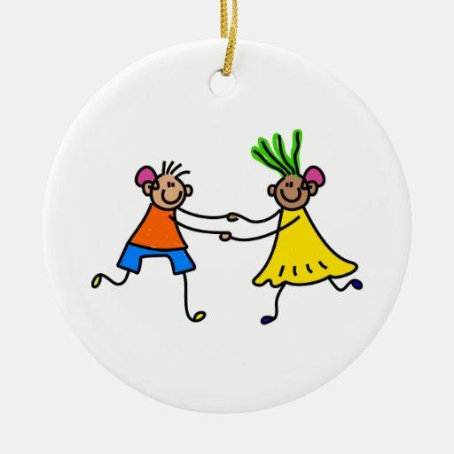 Hearing aid kids christmas ornaments zazzle