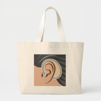 Hearing Aid Large Tote Bag