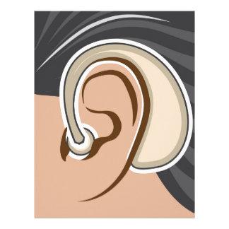 Hearing Aid Letterhead