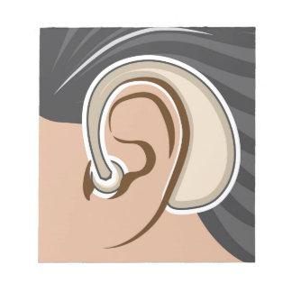 Hearing Aid Notepad