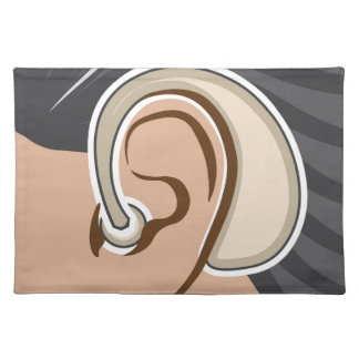 Hearing Aid Placemat