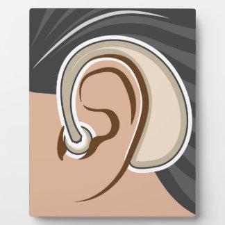 Hearing Aid Plaque
