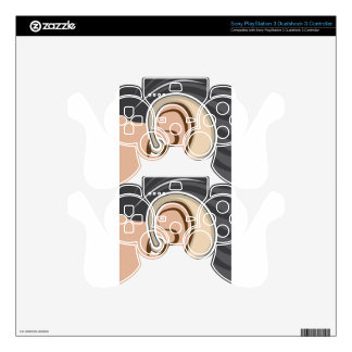 Hearing Aid PS3 Controller Decals
