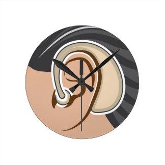 Hearing Aid Round Clock