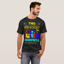 Hearing Aid Specialist Blue For Autism Awareness T-Shirt
