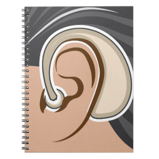 Hearing Aid Spiral Notebook