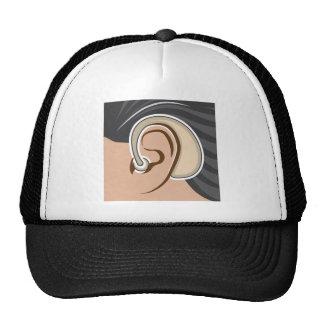 Hearing Aid Trucker Hat