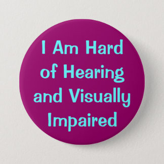 hearing and vision button