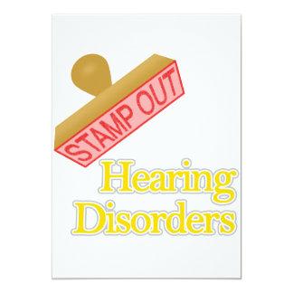 Hearing Disorders Card