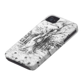 Hearing Forest & Seeing Field by Hieronymus Bosch iPhone 4 Case-Mate Case