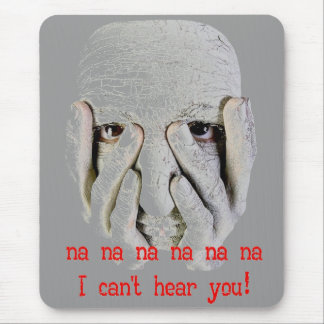 Hearing Impaired Mouse Pad