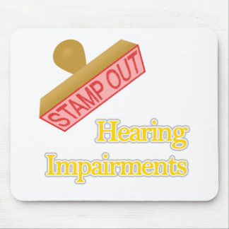 Hearing Impairments Mouse Pad