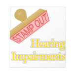 Hearing Impairments Scratch Pads