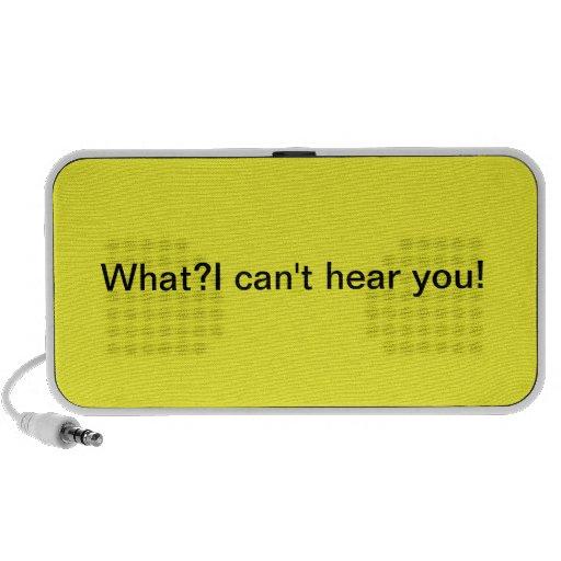 Hearing Mp3 Speakers