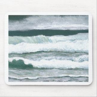 Hearing the Waves Crash - CricketDiane Ocean Art Mousepad