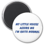 Hearing Voices Humor Fridge Magnets