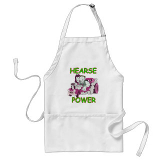 Hearse Power Adult Apron